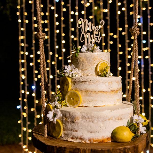 La torta Nuziale Torre Garbonogara