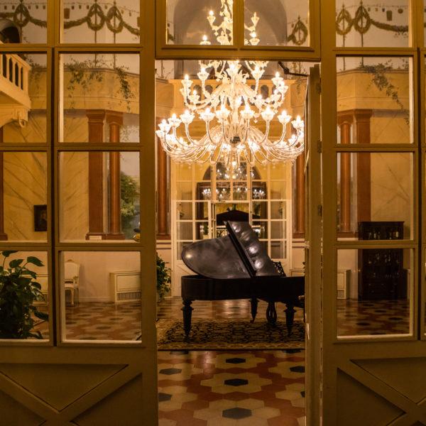il salone interno villa ramacca bagheria