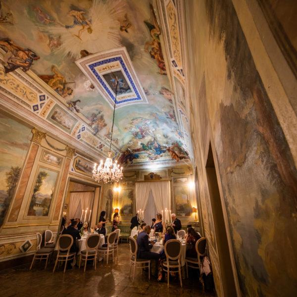 Villa Boscogrande Fabio Sciacchitano Salone interno