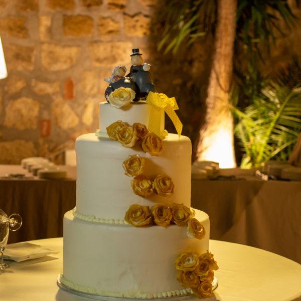 la torta nuziale cake topper tonnara florio galati catering