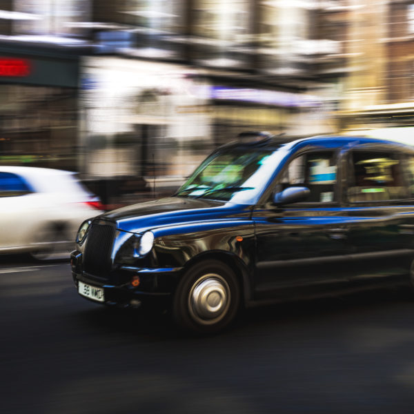 Panning Photo London Taxi