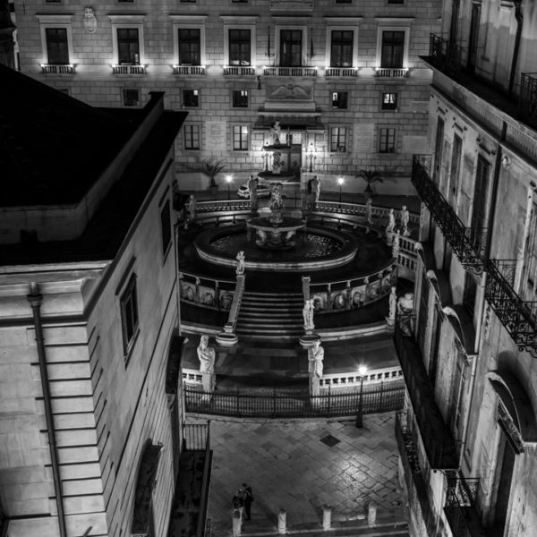 corso vittorio e piazza pretoria palermo hotel quinto piano quattro canti