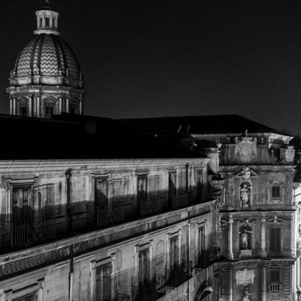 cupola santa caterina quattro canti e piazza pretoria dall alto