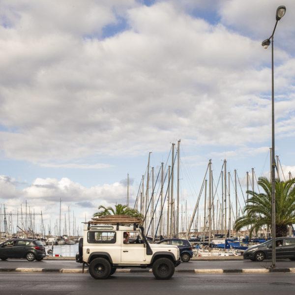 Traffico a Palermo La Cala