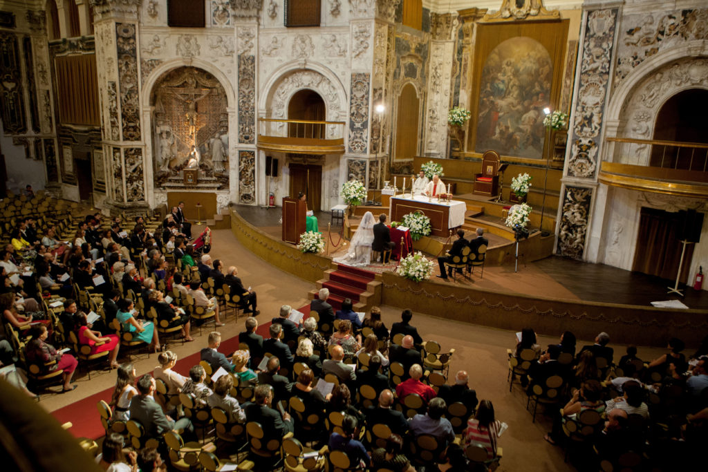chiesa che sembra un teatro a palermo san salvatore