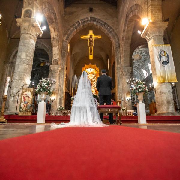 fotografie matrimonio in chiesa palermo