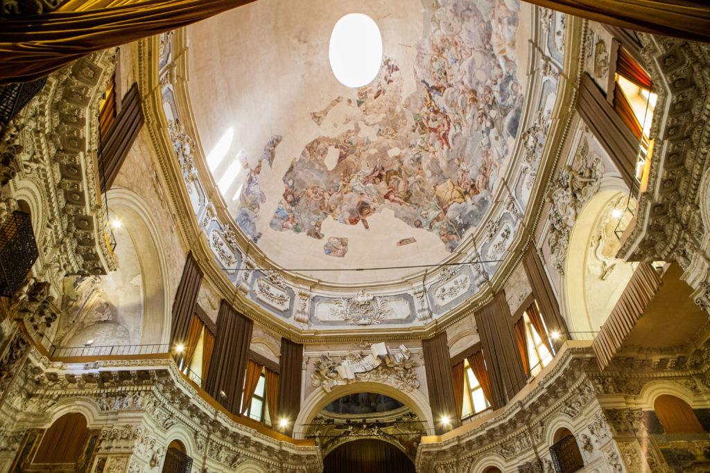 tetto della chiesa san salvatore palermo