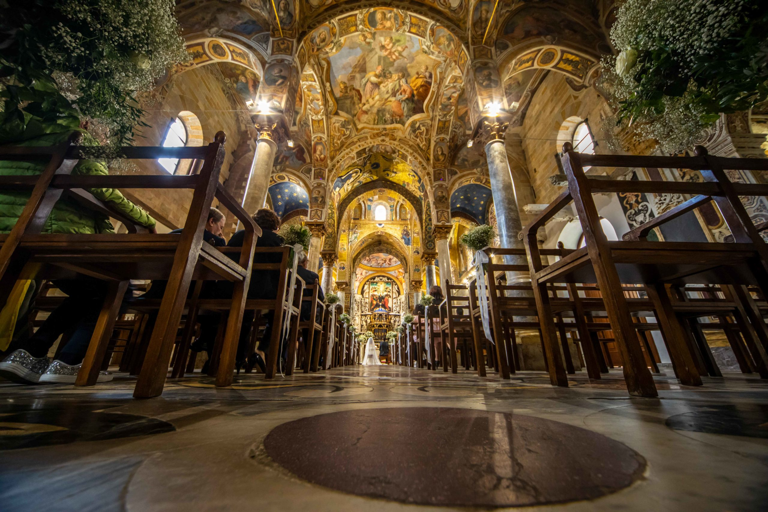 """Santa Maria dell'Ammiraglio detta """"La Martorana"""" Chiesa Palermo"""